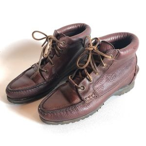 Vintage Timberland Waterproof Leather Ankle Boots